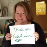Deborah Harkness thanks readers who voted for The Book of Life at Goodreads
