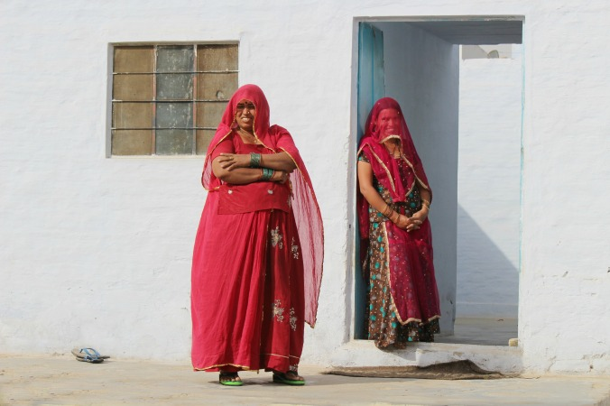 Women of Rajasthan, photo by Diya D'Sa