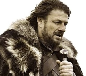 Nice characters will not go quietly into the good grimdark! Rage, rage against  the fate of Eddard Stark!